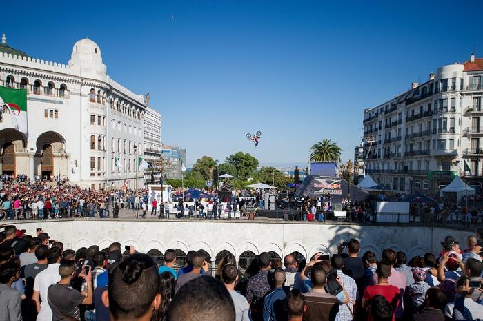 Upside-Down in Algiers...