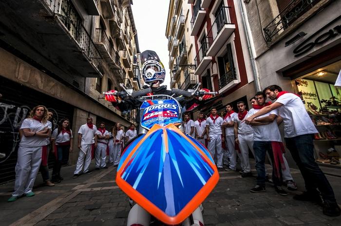Pamplona Teaser Shooting 2014