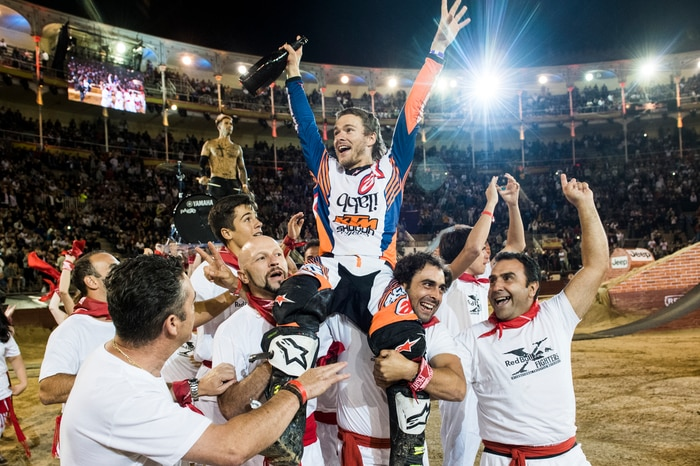 Levi Sherwood wins Madrid for the second time