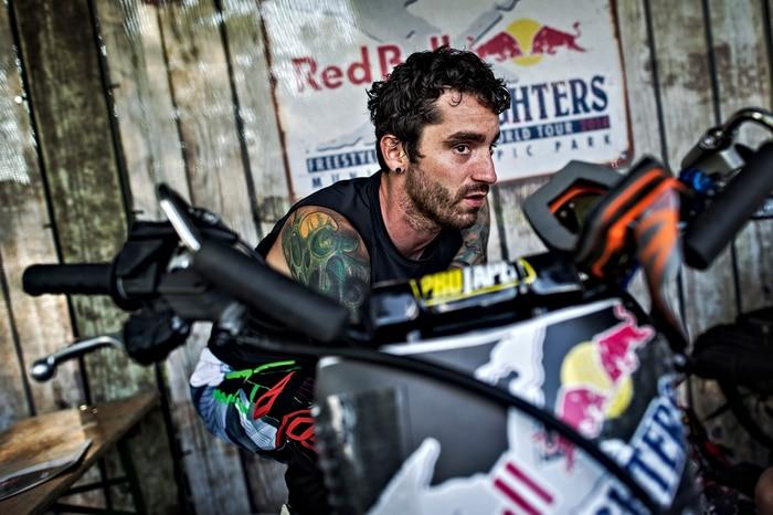 Adam Jones - Riders Pit