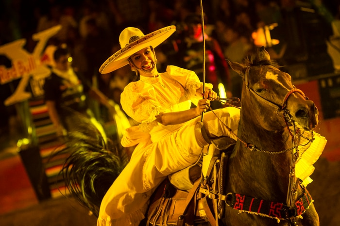 Traditional Mexican entertainment